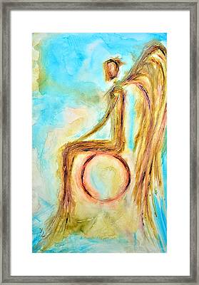 Peace Framed Print by Ivan Guaderrama