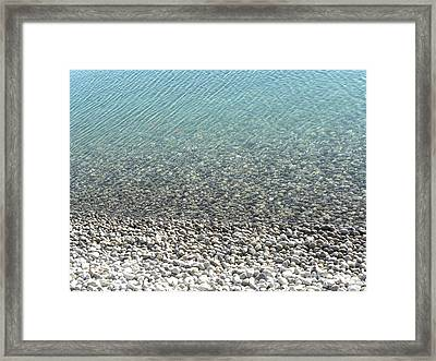 Peace Framed Print by Laura Yamada