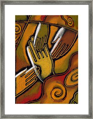 Peace Framed Print by Leon Zernitsky