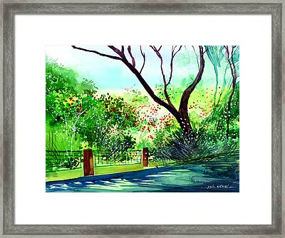 Peace Of Mind 1 Framed Print by Anil Nene