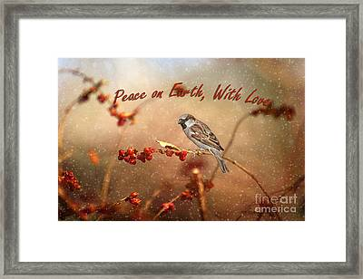 Peace On Earth Framed Print by Darren Fisher