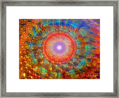 Peaceful Harmony Framed Print by Michael Durst