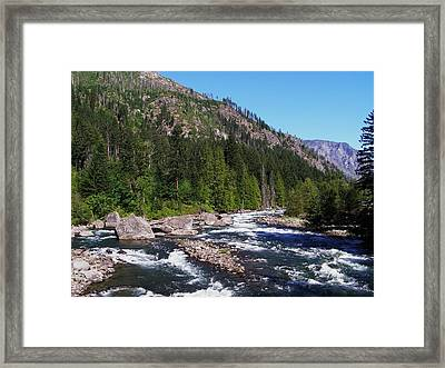 Peaceful Framed Print by Jeff Taylor