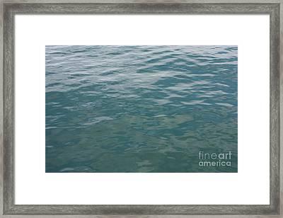 Peaceful Water Framed Print by Carol Groenen