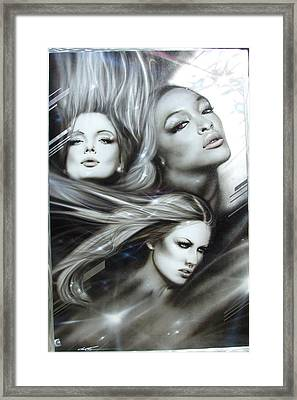 Women - ' Pearl Passions ' Framed Print by Christian Chapman Art