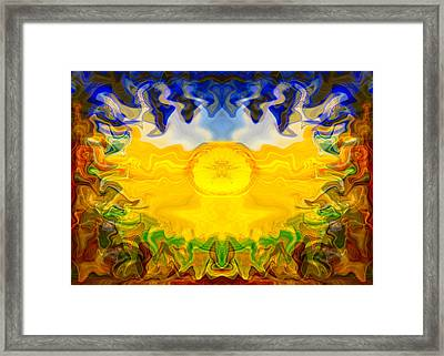 Pearlescent  Framed Print by Omaste Witkowski