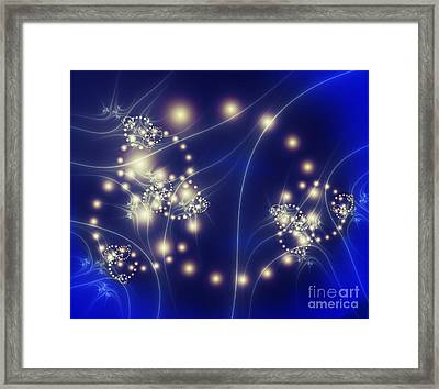 Pearls Framed Print by Ed Churchill
