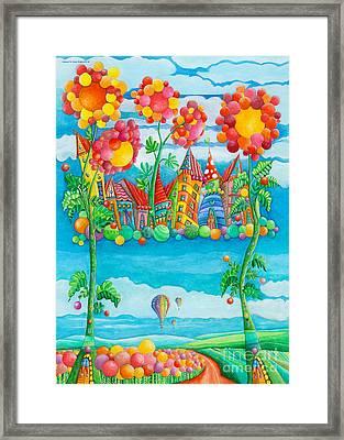 Pearly Gate Framed Print by Sonja Mengkowski