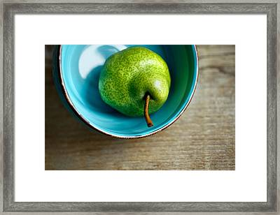 Pears Framed Print by Nailia Schwarz