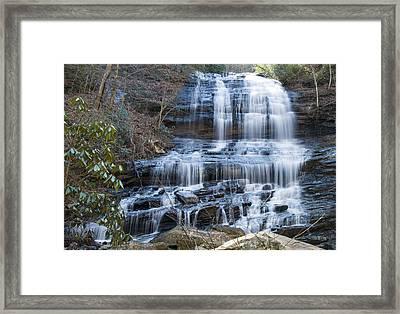 Pearsons Falls 4 Framed Print by Chris Flees