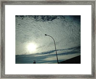 Peculiar Afternoon Framed Print by Suzanne Perry