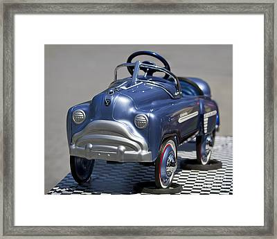 Pedal Car Framed Print by Dennis Hedberg