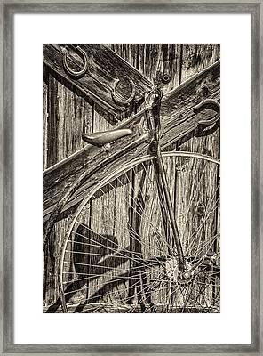 Peddle Power Framed Print by Nichon Thorstrom