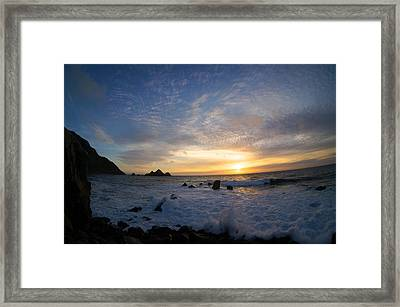Pedro Point Framed Print by Tommy Hart