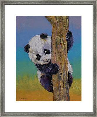 Peekaboo Framed Print by Michael Creese