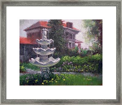Peel Mansion Framed Print by Timothy Jones