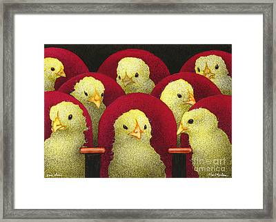 Peep Show... Framed Print by Will Bullas