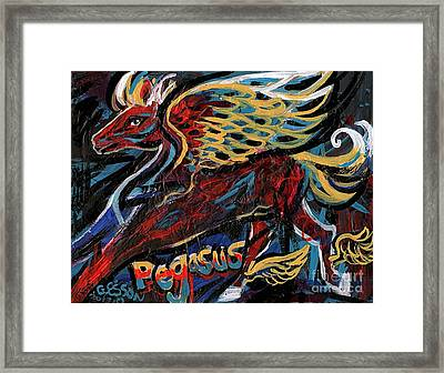 Pegasus Framed Print by Genevieve Esson