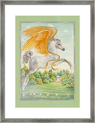 Pegasus Framed Print by Lynn Bywaters