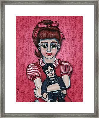 Peggy Sue Framed Print by Victoria De Almeida