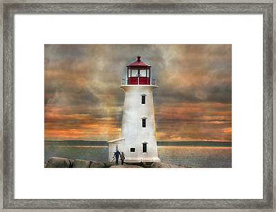 Peggy's Colors Framed Print by Betsy Knapp