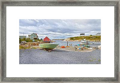 Peggy's Cove 1 Framed Print by Betsy C Knapp