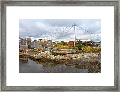 Peggy's Cove 10 Framed Print by Betsy Knapp