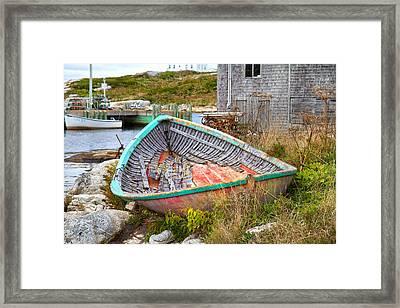 Peggy's Cove 11 Framed Print by Betsy Knapp