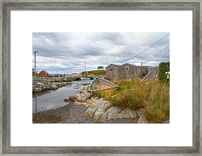Peggy's Cove 12 Framed Print by Betsy Knapp