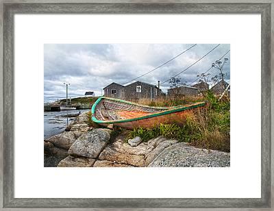 Peggy's Cove 13 Framed Print by Betsy Knapp