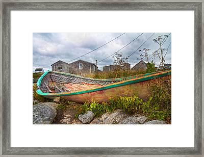 Peggy's Cove 14 Framed Print by Betsy Knapp