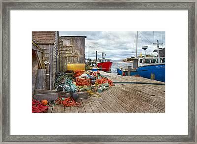 Peggy's Cove 17 Framed Print by Betsy Knapp