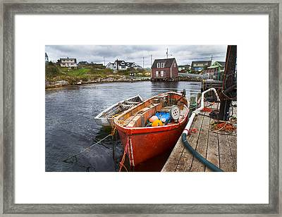 Peggy's Cove 19 Framed Print by Betsy C Knapp