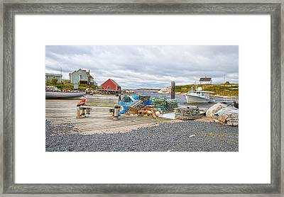 Peggy's Cove 2 Framed Print by Betsy C Knapp