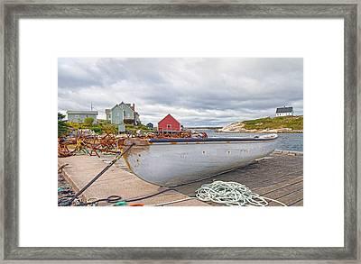 Peggy's Cove 3 Framed Print by Betsy Knapp