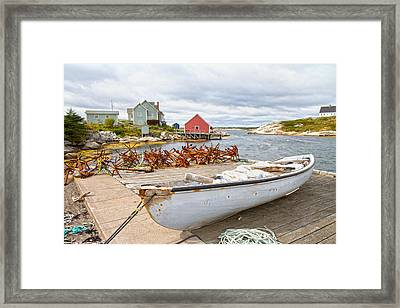 Peggy's Cove 4 Framed Print by Betsy Knapp