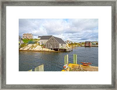 Peggy's Cove 6 Framed Print by Betsy Knapp