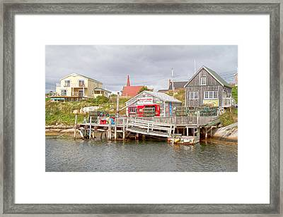 Peggy's Cove 7 Framed Print by Betsy Knapp