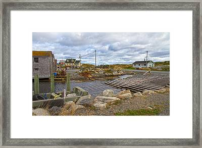 Peggy's Cove 8 Framed Print by Betsy C Knapp