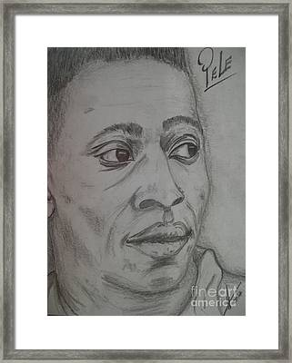 Pele Framed Print by Collin A Clarke