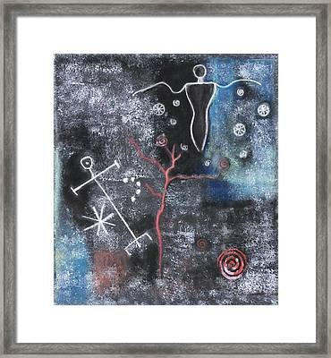 Pele's Domain Framed Print by Diana Perfect