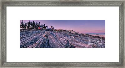 Pemaquid Lighthouse  Framed Print by Abe Pacana