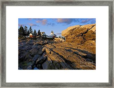 Pemaquid Lighthouse Framed Print by Sean Cupp