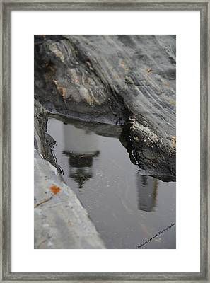 Pemaquid Reflections Framed Print by Becca Brann