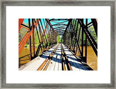 Pemigewasset Line Framed Print by Catherine Reusch  Daley
