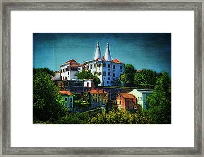 Pena National Palace - Sintra Framed Print by Mary Machare