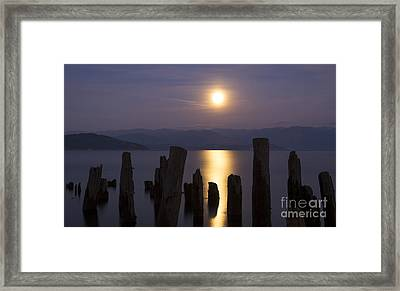 Pend Oreille Moon Framed Print by Idaho Scenic Images Linda Lantzy