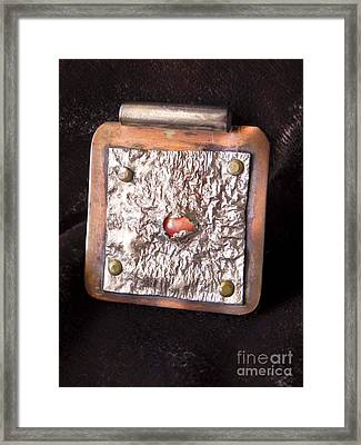Pendant Framed Print by Patricia  Tierney