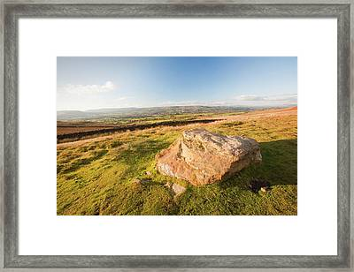 Pendle Hill Framed Print by Ashley Cooper