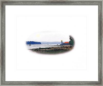 Pendlebury Lighthouse Framed Print by Art  MacKay